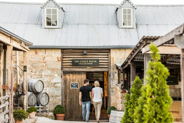 Pooley Wines Tasting Room The Coach House People Shot